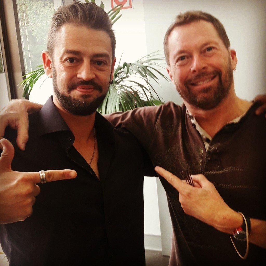 Javier Garzás con Alistair Cockburn